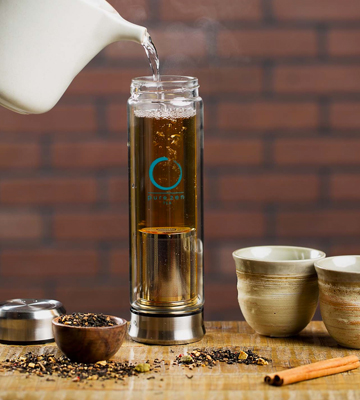 Review of Pure Zen Tea Glass Water Bottle Infuser