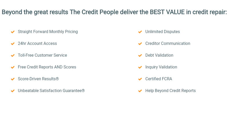The Credit People Credit Repair Services in the use
