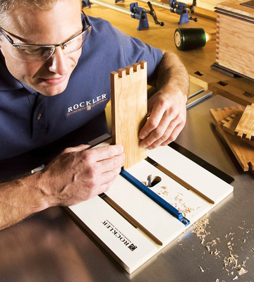 Review of Rockler 29502 Router Table Box Joint Jig