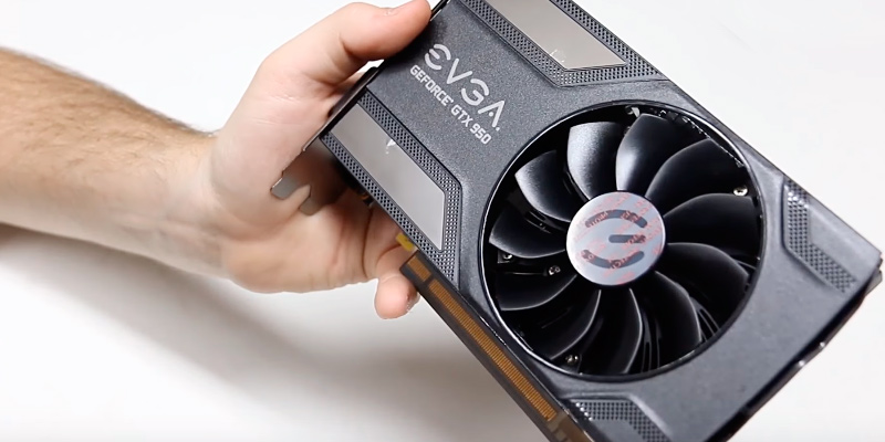 Detailed review of EVGA GeForce GTX 950 SC GAMING 2GB Silent Cooling Graphics Card