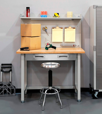 Review of Seville Classics UHD20247B UltraHD Lighted Workbench (Stainless Steel)