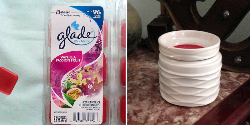 Review of Glade Vanilla Passion Fruit Wax Melts Air Freshener