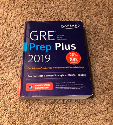 Review of Kaplan Test Prep Plus 2020 GRE Prep
