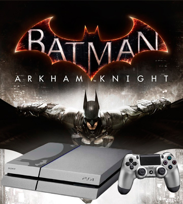 Review of Sony PlayStation 4 Console Batman Arkham Knight Bundle Limited Edition