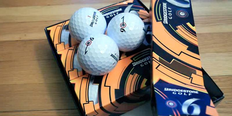 Bridgestone E6 Golf Balls in the use
