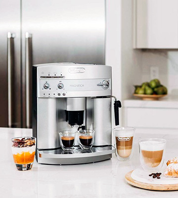 Review of Delonghi ESAM3300 Magnifica Super-Automatic Coffee Machine with Patented Cappuccino System