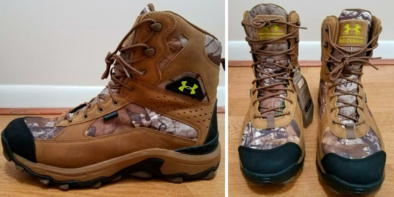 Review of Under Armour Speed Freek Bozeman Hiking Boot