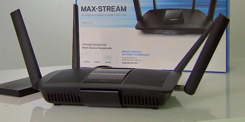 Linksys EA8500 Dual Band Wireless Router MU-MIMO in the use