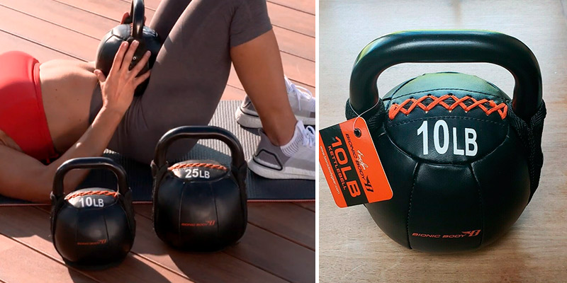 Review of Bionic Body Soft Kettlebell with Handle
