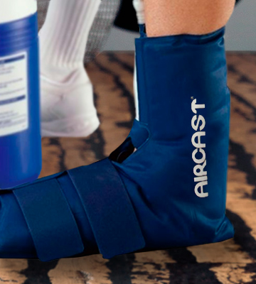 Review of Aircast Ankle Cryo/Cuff Cryo/Cuff Cold Therapy with Non-Motorized Cooler