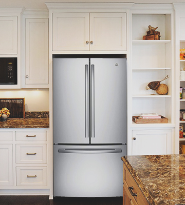 Review of GE GNE25JSKSS 24.8 Cu. Ft. French Door Refrigerator