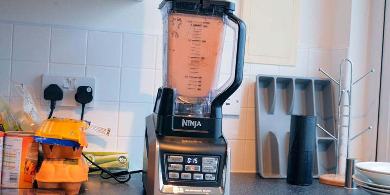 Review of Ninja BL642 Countertop Blender Auto-iQ Base