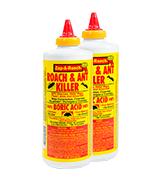 Zap-A-Roach 2 Pack Boric Acid Roach and Ant Killer
