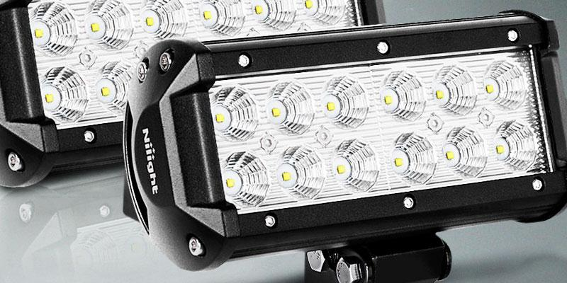 "Review of Nilight 2 x 6.5"" LED Work Light Bar"