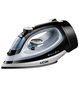 Aicok ES2345 Steam Iron with Retractable Cord