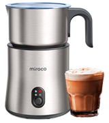 Miroco MI-MF005 Automatic Stainless Steel Milk Steamer Frother