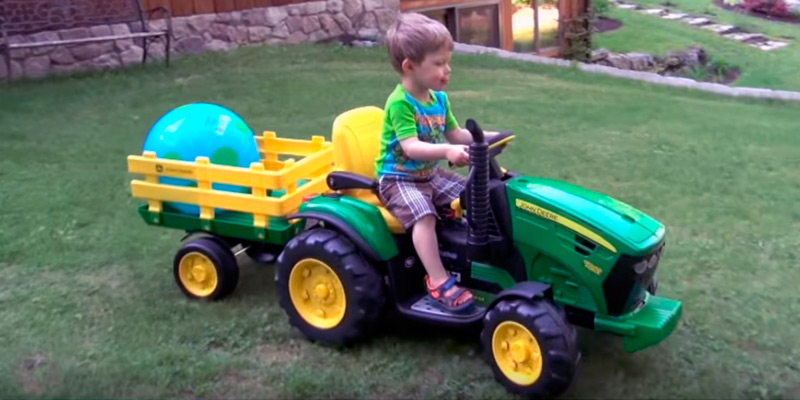 Detailed review of Peg Perego John Deere Ground Force Tractor
