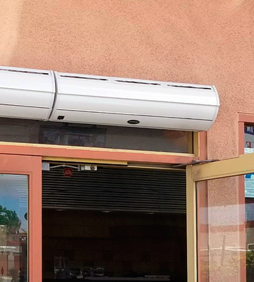 Review of Apex FM-13509-L Aerial Titan-2 36 Commercial Indoor Air Curtain