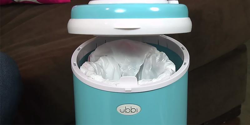 Review of Ubbi Steel Diaper Disposal System with Childproof Lock