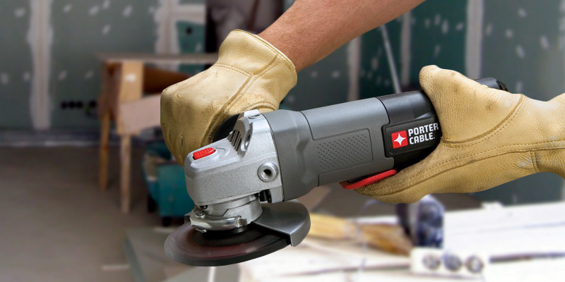 PORTER-CABLE PC60TPAG Angle Grinder application