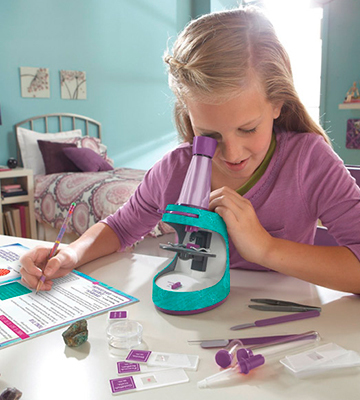 Review of Educational Insights 5350 Nancy B's Science Club Microscope and Activity Journal