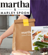 Martha & Marley Spoon Healthy Food Service