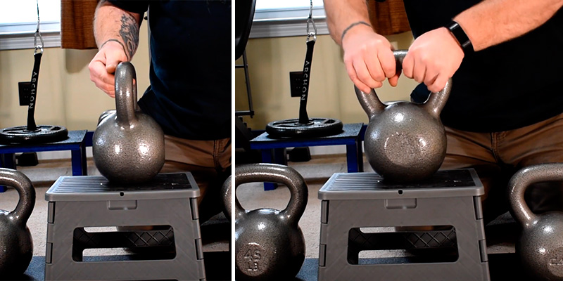 Review of CAP Barbell Cast Iron Kettlebell