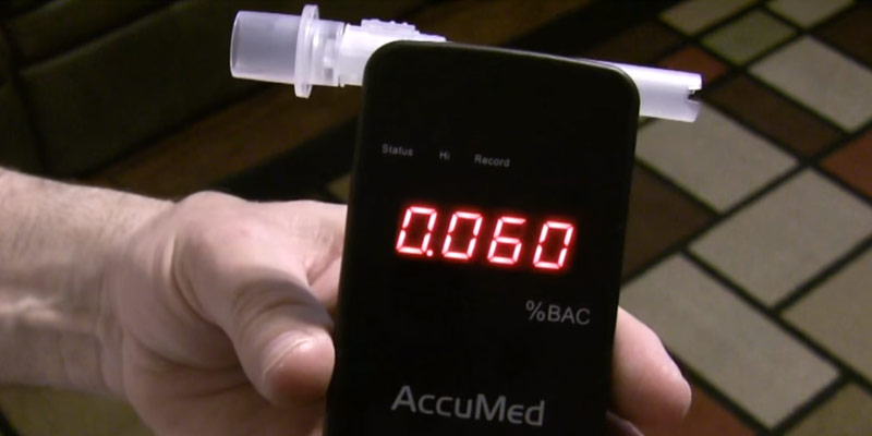 Detailed review of AccuMed BAC-178 Professional Breathalyzer Alcohol Tester