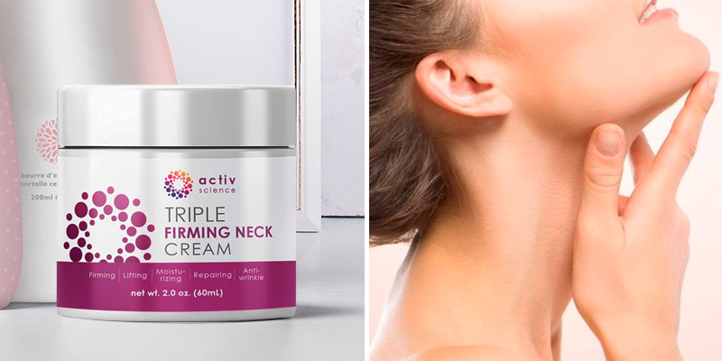 Review of ACTIVSCIENCE Neck Firming Cream Anti Aging Moisturizer for Neck