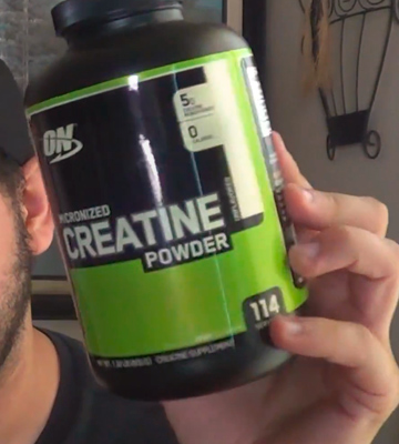 Review of Optimum Nutrition 600g Micronized Creatine Monohydrate Powder
