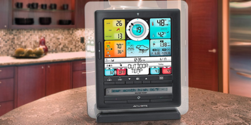AcuRite 01036 Pro Weather Station with PC Connect in the use
