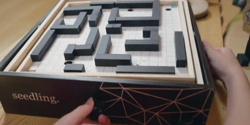 Review of Seedling 16TMAZE Design Your Own Marble Maze