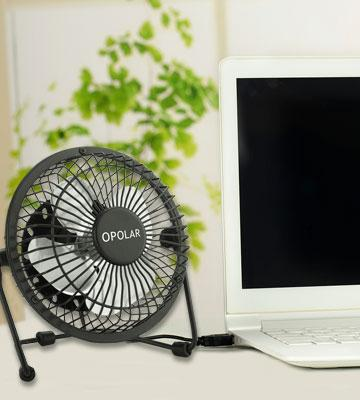 Review of OPOLAR F401 USB Mini Personal Fan