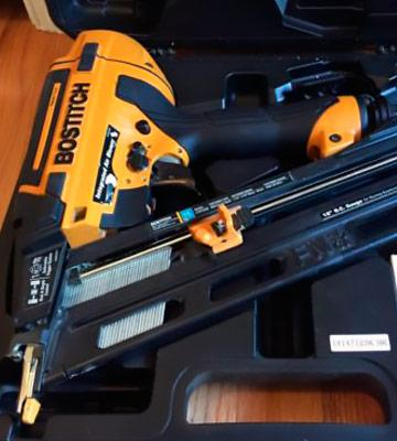 Review of BOSTITCH N62FNK-2 Angled Finish Nailer
