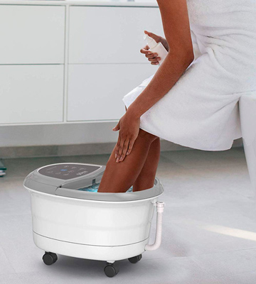 Review of Gideon Foot Spa Bath Massager Luxury Therapeutic Heated