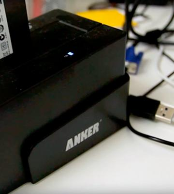 Review of Anker 6618SUS3 External Hard Drive Docking Station