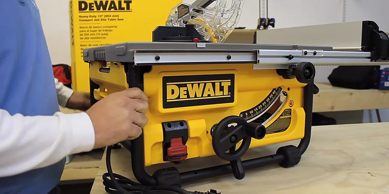 Review of DEWALT DW745 Compact Job-Site Table Saw