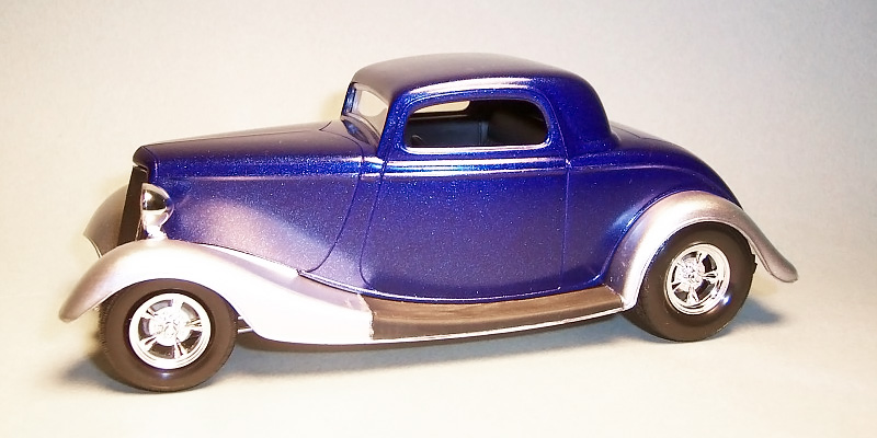Detailed review of Revell Ford Street Rod 85-1943