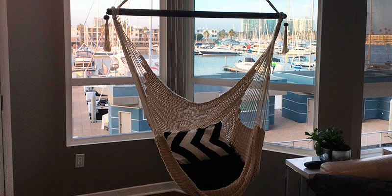 Review of Caribbean Hammocks Polyester Hanging Chair