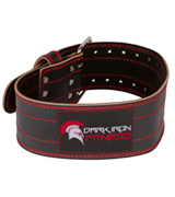 Dark Iron Fitness Leather Pro Weight lifting Belt