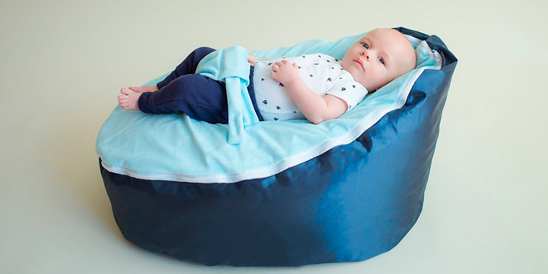 Review of BayB Brand BDD-063 Baby Bean Bag, Filled, Blue