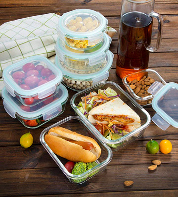 Review of Bayco 18 Pieces Glass Storage Containers with Lids