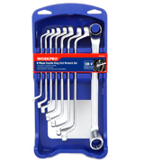 WORKPRO W003302A 8 Piece Offset Box Wrench Set (Metric )
