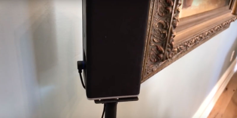 Review of Sanus HTBS Adjustable Height Speaker Stand