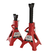 Strongway NT43002C Double-Locking Jack Stands - Pair, 3-Ton Capacity