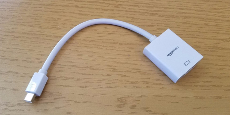 Review of AmazonBasics L51G Mini DisplayPort (Thunderbolt) to HDMI Adapter