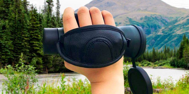 Gosky 12x55 High Definition Monocular in the use