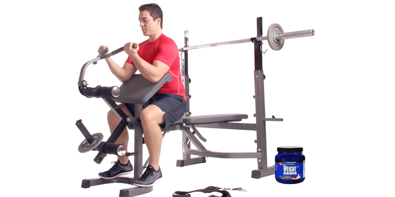 Body Champ BCB5860 Olympic Weight Bench application