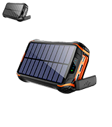 Xiyihoo i26s 26800mAh Solar Power Bank / Portable Solar Panel Charger