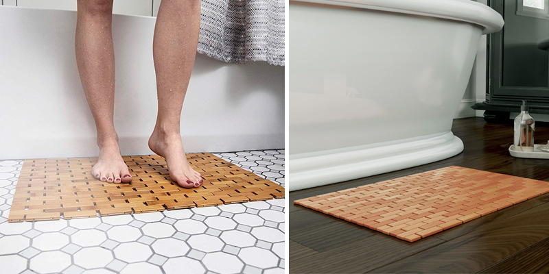 Review of ZPirates 8541925938 Natural Bamboo Wood Bath Mat